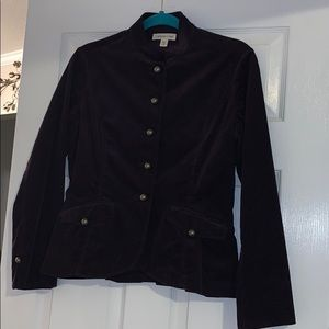 ColdWater Creek military style jacket! Size P6